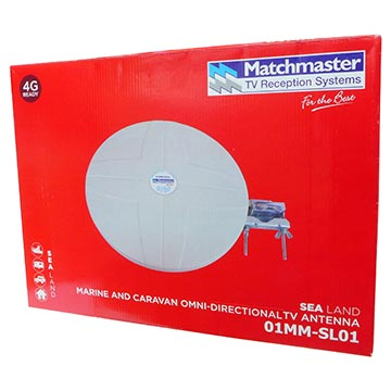 01MM-SL01 - Digital TV Marine and Caravan Omni-directional Antenna VHF/UHF (6-12)(28-51) Packaging Image