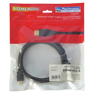 04MM-HD1.5 - High Speed HDMI® 1.5M Cable V2.0 Packaging Image