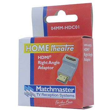 04MM-HDC01 - Right Angle HDMI® Male To Female Adaptor Packaging Image