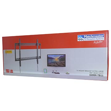 "04MM-TB11 - TV Mount Bracket Extra Large 100"" Heavy Duty Packaging Image"