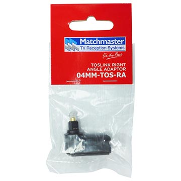 04MM-TOS-RA - Toslink Right Angle Adaptor Packaging Image