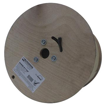 06MM-E11QF - RG11 Quad-shield Cable Flooded 305M Reel Packaging Image