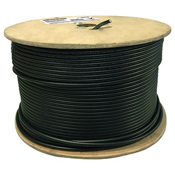 06MM-E6Q - RG6 Quad-shield Cable 305M Reel Packaging Image