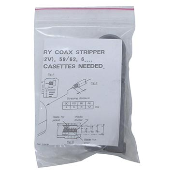 08MM-HT-332 - Stripping Tool For RG58, RG59 and RG6 (08MM-COMPKIT component) Packaging Image