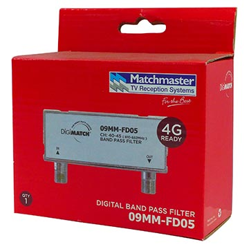 09MM-FD05 - Filter Band Pass Channels (40-45) Band D Packaging Image
