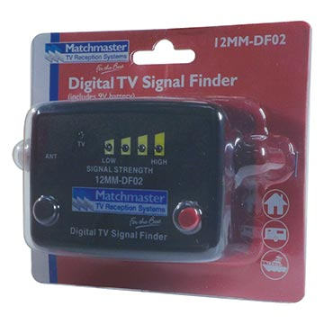 12MM-DF02 - Digital TV Signal Finder Packaging Image