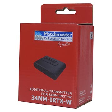 34MM-IRTX-W - Additional Transmitter Extender for 34MM-IRKIT-W Packaging Image