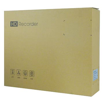 50MM-WN8CH0TB - 8 Channel Wi-Fi Network Video Recorder (NVR) Packaging Image
