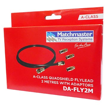 DA-FLY2M - Flylead 2M RG59 Quad Including Adaptors Packaging Image