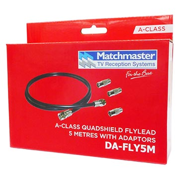 DA-FLY5M - Flylead 5M RG59 Quad Including Adaptors Packaging Image