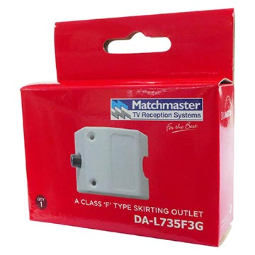 DA-L735F3G - Outlet Skirting Plate White 3GHz Packaging Image