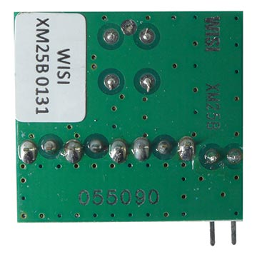 14MM-XE-25-0131 - WISI Pluggable 13/1dB Output Tap for 14MM-VX26H Amplifier Back of Product Image