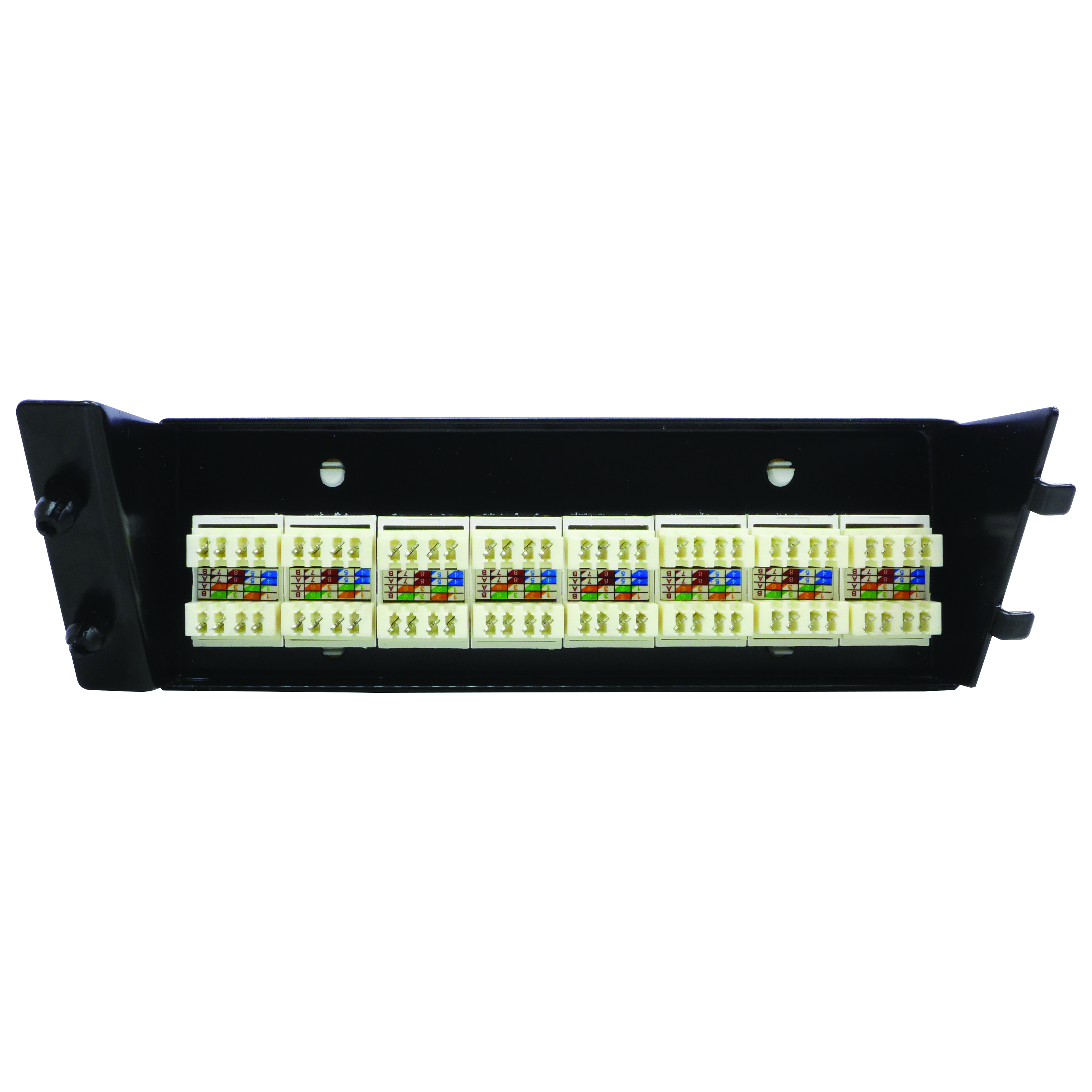 30MM-DHP08 - 8 Port Patch Panel for DigiHUB (CAT6) Back of Product Image