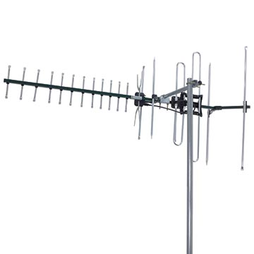 01MM-DC21A - Digital TV Antenna VHF/UHF (6-12)(28-40) 21 Elements Vertical Polarisation Image