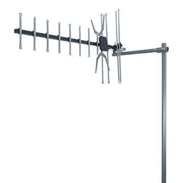 02MM-GX400P - Digital TV Antenna With 4G/5G Filter UHF (28-51) 10 Elements (5 Pack) Vertical Polarisation Image