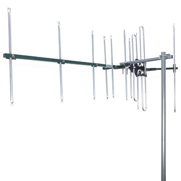 03MM-DC21V - High Gain Digital TV Antenna VHF (6-12) 8 Elements Vertical Polarisation Image