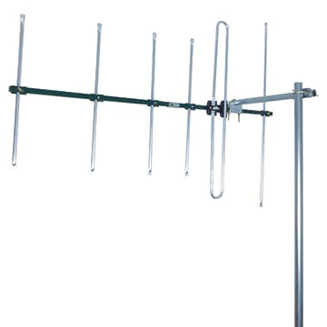 03MM-DR3006 - Digital TV Antenna VHF (6-12) 6 Elements Vertical Polarisation Image