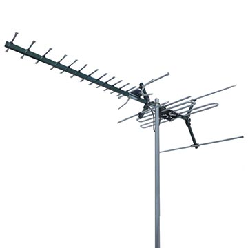 01MM-DC21A - Digital TV Antenna VHF/UHF (6-12)(28-40) 21 Elements