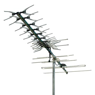 01MM-DG49 - Digital TV Antenna VHF/UHF (6-12)(28-46) 49 Elements