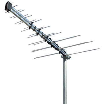 01MM-LP03F - Log Periodic Digital TV Antenna VHF/UHF (6-12)(28-51) 32 Elements