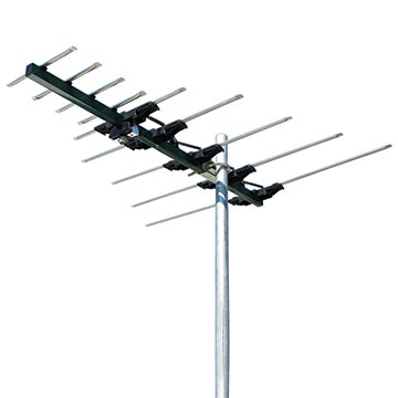 01MM-SA100 - Log Periodic Digital TV Antenna VHF/UHF (6-12)(28-46) 9 Elements