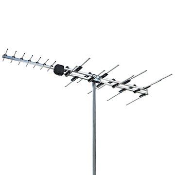 01MM-V8 - Log Periodic Digital TV Antenna VHF/UHF (6-12)(28-40)