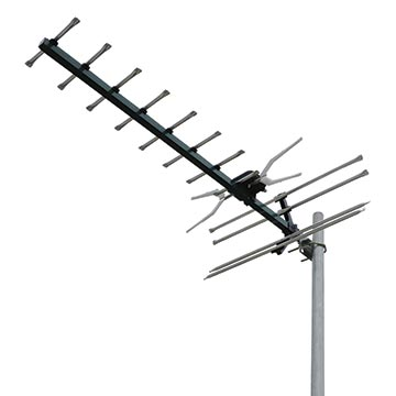 02MM-GX400P - Digital TV Antenna With 4G/5G Filter UHF (28-51) 10 Elements (5 Pack)
