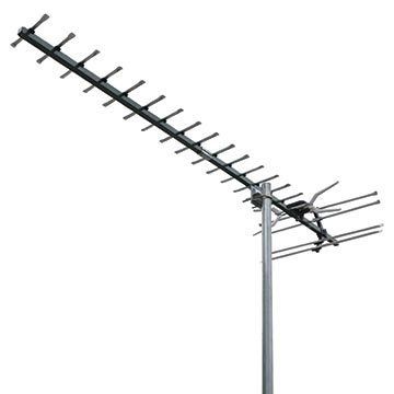02MM-GX500 - Digital TV Antenna With 4G/5G Filter UHF (28-51) 18 Elements