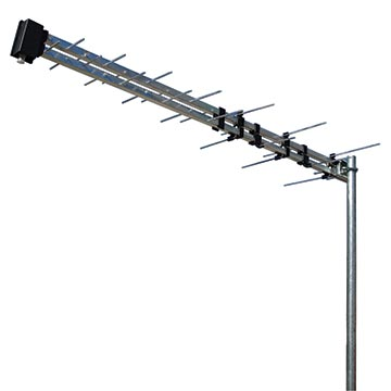 02MM-LP45F - Log Periodic UHF (28-51) Digital TV Antenna