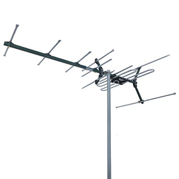 03MM-DC21V - High Gain Digital TV Antenna VHF (6-12) 8 Elements Horizontal Polarisation Image
