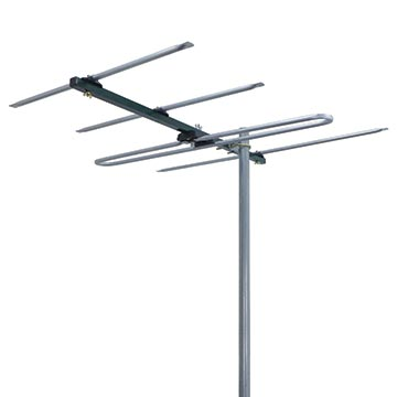 03MM-DR3004P - Digital TV Antenna VHF (6-12) 4 Elements (5 Pack)