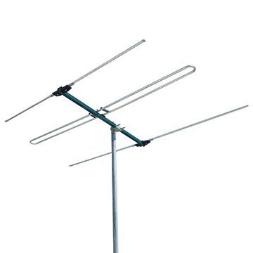03MM-FM3 - FM Antenna (88-108MHz) With Balun 3 Elements