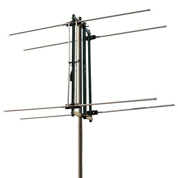 03MM-LITTLERAY - Phased Array Digital TV Antenna VHF (6-12) Vertical/Horizontal with Balun 8 Elements