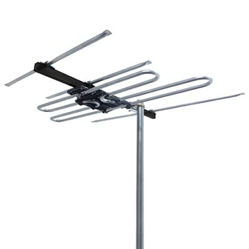 03MM-M580 - High Gain Digital TV Antenna FM + VHF (6-12) with 80dB 4G/5G Filter
