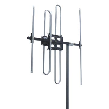 03MM-M580V - High Gain Digital TV Antenna FM + VHF (6-12) with 80dB 4G/5G Filter (Vertical Only)