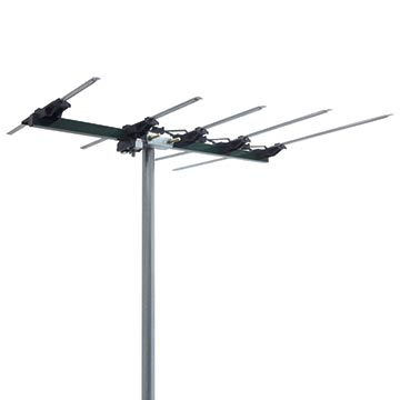 03MM-SA200 - Log Periodic Digital TV Antenna VHF (6-12) 5 Elements