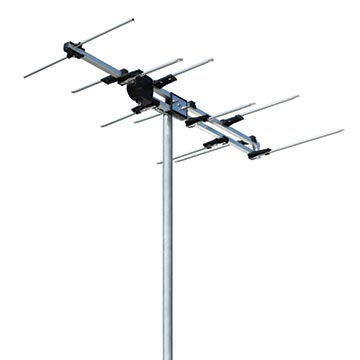 03MM-V6 - Log Periodic Digital TV Antenna VHF (6-12) 12 Elements