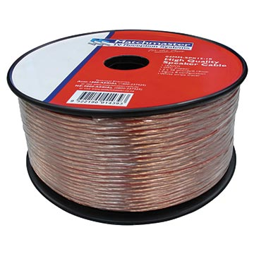 04MM-SPK15-10 - Speaker Cable 2 Core 10M Roll