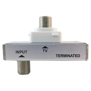 05MM-LP06T - Loop Plate With Tap Mechanism 6dB Terminated