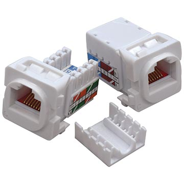 05MM-WA03 - CAT5e RJ45 Jack Insert (8 Pack)