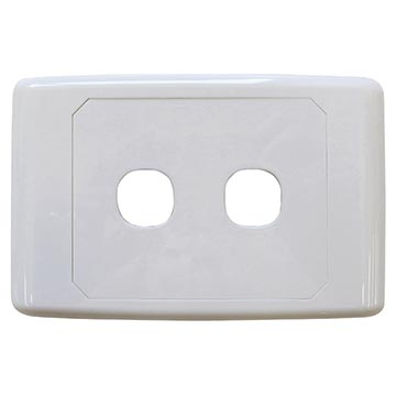05MM-WP52 - 2 Way Outlet Plate Including 1 Blank Insert