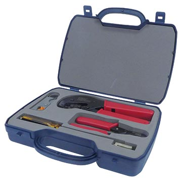 08MM-CRIMPKIT - Professional Coax Cable Installers Crimping Kit