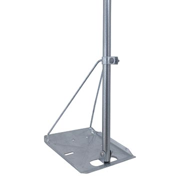 11MM-TRIPOD-M - Tripod Mount 1.2m for Metal Roofs (5 Pack)
