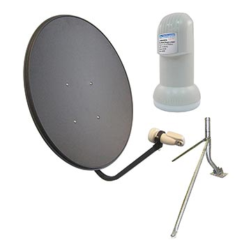 13MM-65LNBM-KIT - 65cm Vast Satellite Kit Including Dish, LNB And Mount