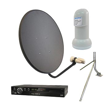13MM-65LNBVASTM-KIT - 65cm Vast Satellite Kit Including Dish, LNB, Mount And Vast STB