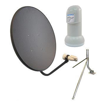 13MM-80LNBM-KIT - 80cm Vast Satellite Kit Including Dish, LNB And Mount