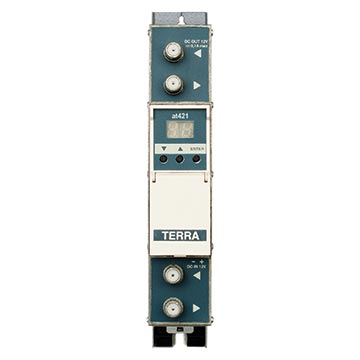 14MM-AT421 - UHF Twin Amplifier 7MHz Channel AGC