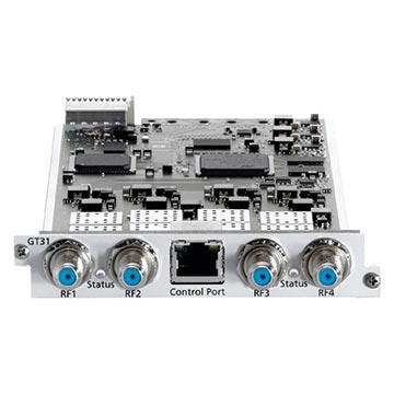 14MM-GT31W - WISI Tangram Universal Quad Tuner DVB to IP Card - DVB-T, T2, S, S2, and S2X