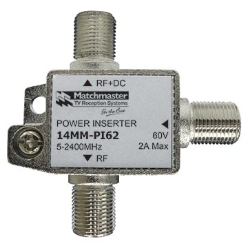 14MM-PI62 - Power Inserter 60V 2A 5-2400MHz