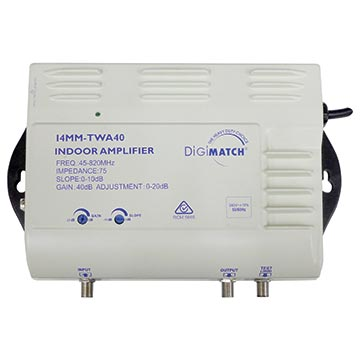 14MM-TWA40 - Distribution Amplifier 40dB